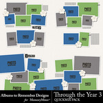 Through the Year Set 3 QM-$3.49 (Albums to Remember)