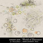 World of Dinosaurs Scatterz Pack-$1.99 (Lindsay Jane)
