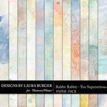 Rabbit Rabbit Blended Paper Pack-$3.49 (Laura Burger)