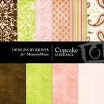 Cupcake Paper Pack-$4.00 (Designs by Krista)