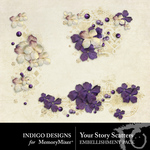 Your Story Scatters Pack-$1.40 (Indigo Designs)
