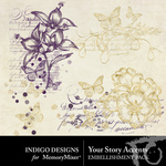 Your Story Accent Pack-$1.40 (Indigo Designs)
