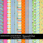 Spaced Out Paper Pack-$3.49 (Laura Burger)