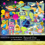 Spaced Out Embellishment Pack-$3.49 (Laura Burger)