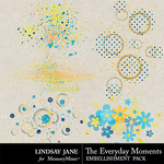 The Everyday Moments Scatterz-$1.40 (Lindsay Jane)