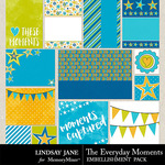 The Everyday Moments Journal Cards-$1.40 (Lindsay Jane)