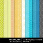 The Everyday Moments Pattern PP-$1.40 (Lindsay Jane)