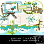 Sky and Earth Embellishment Pack-$3.00 (Julie Klaus)