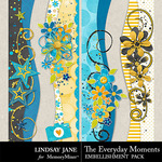 The Everyday Moments Borders-$1.99 (Lindsay Jane)