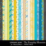 The Everyday Moments Paper Pack-$1.75 (Lindsay Jane)