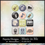 Music in Me FD Flair Pack-$2.49 (Fayette Designs)