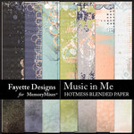 Music in Me FD Hotmess Blended Paper-$2.80 (Fayette Designs)