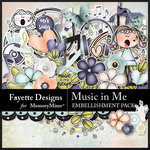 Music in Me FD Embellishment Pack-$2.80 (Fayette Designs)