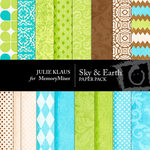 Sky and Earth Paper Pack-$4.00 (Julie Klaus)