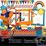 Summer Heat Wave Embellishment Pack-$1.50 (Julie Klaus)