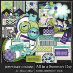 All in a Summers Day Spare Parts-$3.99 (Jumpstart Designs)