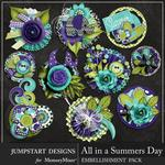 All in a Summers Day Bloom Stacks-$3.99 (Jumpstart Designs)