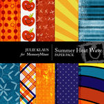 Summer Heat Wave Paper Pack-$3.99 (Julie Klaus)