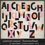 Summerhaze Alphabet Pack-$2.99 (Jumpstart Designs)