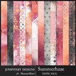 Summerhaze Blended Paper Pack-$3.99 (Jumpstart Designs)