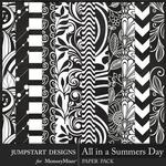 All in a Summers Day Fun Prints Paper-$3.99 (Jumpstart Designs)
