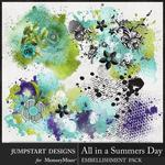 All in a Summers Day Accents Pack-$3.99 (Jumpstart Designs)