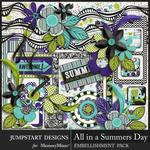 All in a Summers Day Add On Pack-$4.99 (Jumpstart Designs)