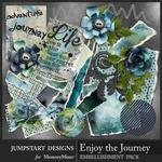 Enjoy the Journey Note Bits Pack-$3.99 (Jumpstart Designs)