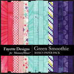 Green Smoothie Basic Paper Pack-$3.99 (Fayette Designs)
