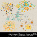 Seasons Come and Go Scatterz Pack-$1.99 (Lindsay Jane)