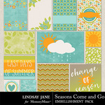 Seasons Come and Go Journal Cards-$1.99 (Lindsay Jane)