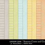 Seasons Come and Go Extra Paper Pack-$1.99 (Lindsay Jane)