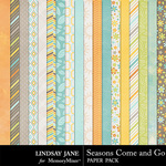 Seasons Come and Go Paper Pack-$2.49 (Lindsay Jane)
