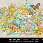 Seasons Come and Go Embellishment Pack-$3.49 (Lindsay Jane)