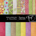 Spring A Ling Paper Pack-$4.00 (Paula Phillips)