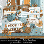 My Brother Combo Pack-$7.99 (Albums to Remember)