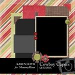 Cowboy Capers QuickMix-$3.99 (Karen Lewis)