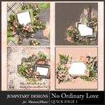No Ordinary Love QuickPage 1-$4.99 (Jumpstart Designs)