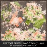 No Ordinary Love Accents Pack-$3.99 (Jumpstart Designs)