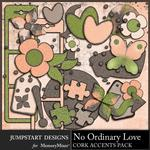No Ordinary Love Cork Accents Pack-$2.99 (Jumpstart Designs)