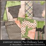 No Ordinary Love Cardboard Paper Pack-$3.99 (Jumpstart Designs)