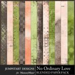 No Ordinary Love Blended Paper Pack-$3.99 (Jumpstart Designs)