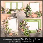 No Ordinary Love Clusters Pack 1-$2.99 (Jumpstart Designs)
