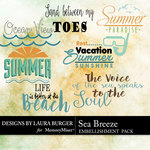 Sea Breeze LB WordArt Pack-$3.99 (Laura Burger)