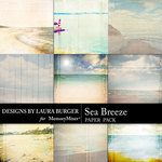 Sea Breeze LB Scenery Paper Pack-$3.99 (Laura Burger)