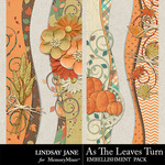 As The Leaves Turn Borders Pack-$1.99 (Lindsay Jane)