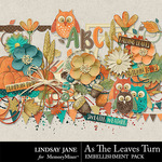 As The Leaves Turn Embellishment Pack-$3.49 (Lindsay Jane)