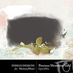 Precious Memories Masks Vol 5-$2.99 (Indigo Designs)