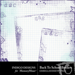 Back To School ID Borders-$1.80 (Indigo Designs)