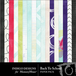 Back To School ID Paper Pack-$3.99 (Indigo Designs)